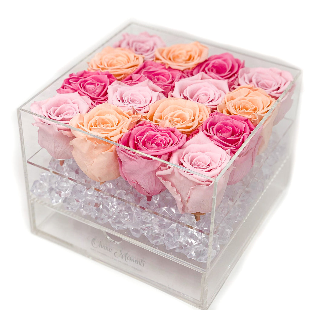 Candy Kisses Forever Rose Box - Medium