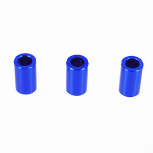 Redcat Racing  050116 Aluminum Gear Plate Spacer, Blue (3P) 050116 | RedcatRacing.Toys