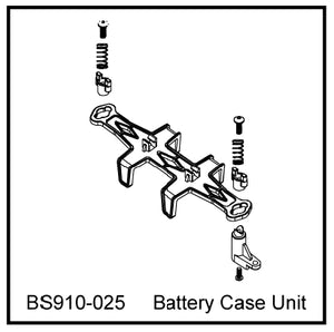 Redcat Racing BS910-025 Battery Case Unit  BS910-025 - RedcatRacing.Toys