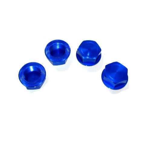 Redcat Racing  050031 Capped Wheel Nuts, Aluminum (4pcs) 050031 | RedcatRacing.Toys