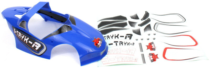 Redcat Racing BS210-006B S-TRYK-R Body, Blue - RedcatRacing.Toys