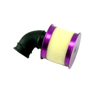 Redcat Racing Aluminum capped air filter w/ element (purple) 04104P | RedcatRacing.Toys