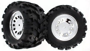Redcat Racing BS704-001A Ground Pounder Wheels, 2pcs | Redcat Racing