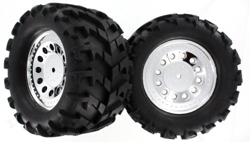 Redcat Racing BS704-001A Ground Pounder Wheels, 2pcs | RedcatRacing.Toys