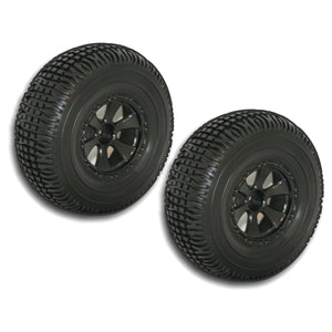 Redcat Racing BS804-001 Short Course Wheels and Tires, Black (2pcs) - RedcatRacing.Toys