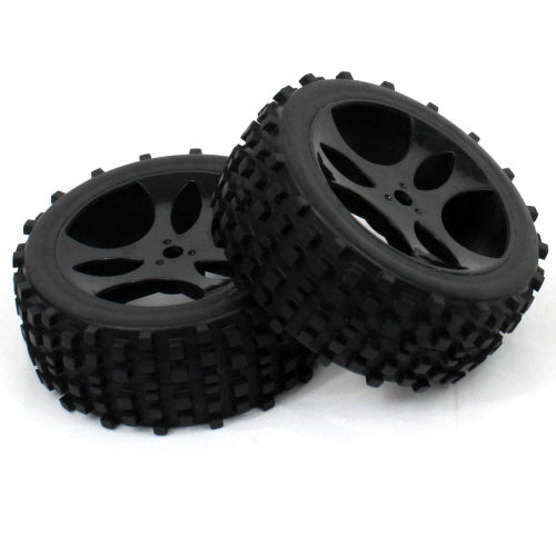 Redcat Racing Wheels Complete (for Buggy only) 2P 10mm  07155-10 | Redcat Racing