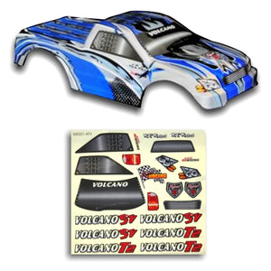 Redcat Racing 18801 1/10 Truck Body Blue and Silver 18801 | RedcatRacing.Toys
