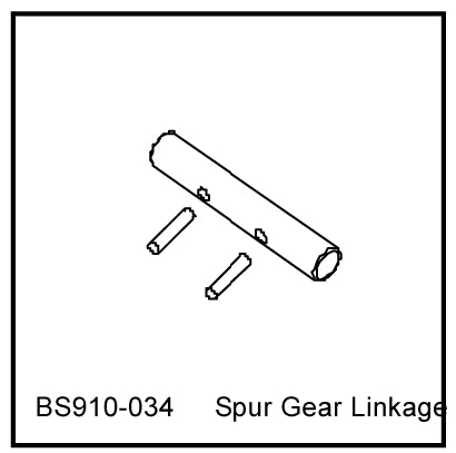 Redcat Racing BS910-034 Spur Gear Linkage ~ - RedcatRacing.Toys