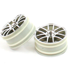 Redcat Racing 02018c Chrome Spoke Wheels, 2pcs | RedcatRacing.Toys