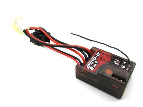 Redcat Racing Mini 2in1 ESC/Receiver (V2 ONLY) MT-202RE | Redcat Racing