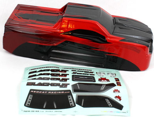 Redcat Racing BS214-003T-RED Truck Body Red BS214-003T-RED | RedcatRacing.Toys