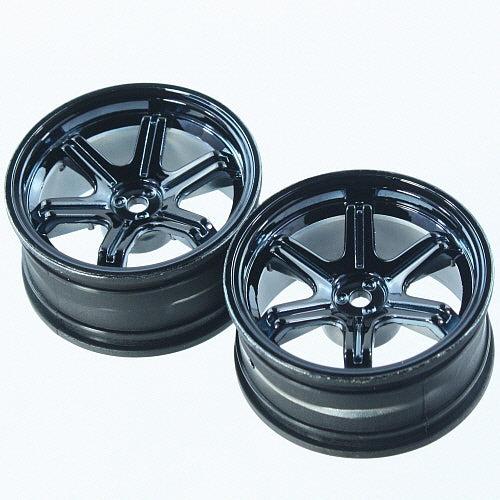 Redcat Racing  Black Glossy rim QTY 2   BS204-009 - RedcatRacing.Toys