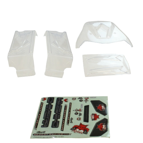 Redcat Racing ATV260-BL-CLEAR Clear Body Panels for Rampage Chimera ATV260-BL-CLEAR | Redcat Racing