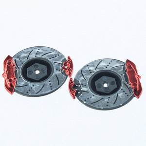 Redcat Racing BS210-020R Disc Brake with Red chrome QTY 2 - RedcatRacing.Toys