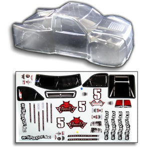 Redcat Racing BS804-002C 1/8 Short Course Truck Body CLEAR | RedcatRacing.Toys