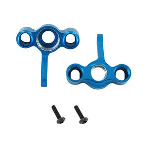 Redcat Racing Aluminum front steering knuckles (2pcs)(blue) 06066B | RedcatRacing.Toys