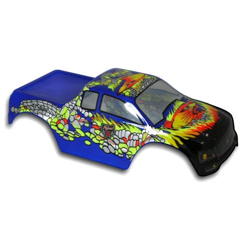 Redcat Racing 88016BG 1/10 Truck Body Blue and Green   88016BG | Redcat Racing