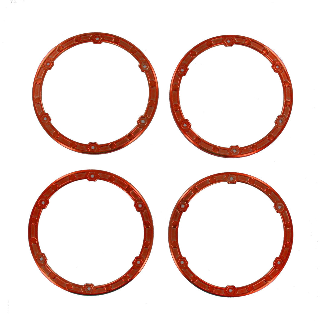 Redcat Racing BS810-068O Bead Lock Ring, Orange - RedcatRacing.Toys