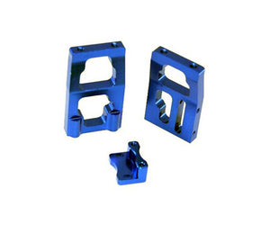 Redcat Racing 050010b Aluminum Futaba Steering Servo Mount (Blue) 050010b - RedcatRacing.Toys