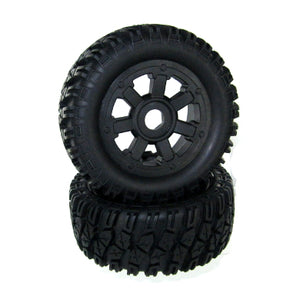 Redcat Racing  Wheels Complete (L/R) Part 07431 - RedcatRacing.Toys
