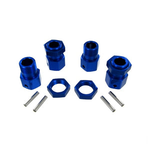 Redcat Racing 050030 Aluminum Wheel Hex and Nut Set (4pcs) 050030 | RedcatRacing.Toys