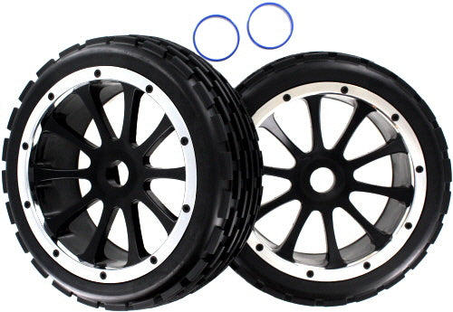 Redcat Racing 51023 Front Wheels and Tires 2pcs - RedcatRacing.Toys
