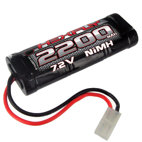 Redcat Racing 2200 NiMh  Battery - 7.2V with Tamiya Connector HX-2200MH-T | Redcat Racing