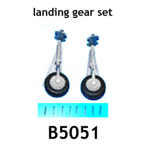 Redcat Racing AT-B5051 main landing gear,tail  landing gear& wheels - RedcatRacing.Toys