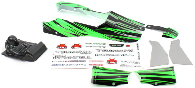 Redcat Racing 69755 Body Panels, Green - RedcatRacing.Toys