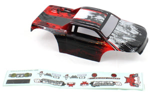 Redcat Racing R680-R 1/16 Rock Crawler Body, Red | Redcat Racing