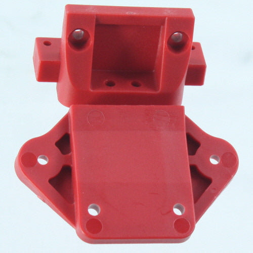 Redcat Racing 510141 Chassis   linkage block-Red TR-MT10E 510141 - RedcatRacing.Toys