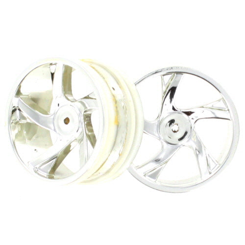 Redcat Racing 23626V Chrome Rims 2P - RedcatRacing.Toys