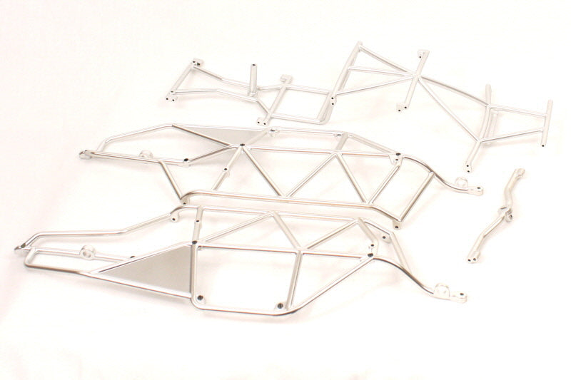 Redcat Racing 20118 Silver Finish Roll Cage, Complete for Sandstorm | Redcat Racing