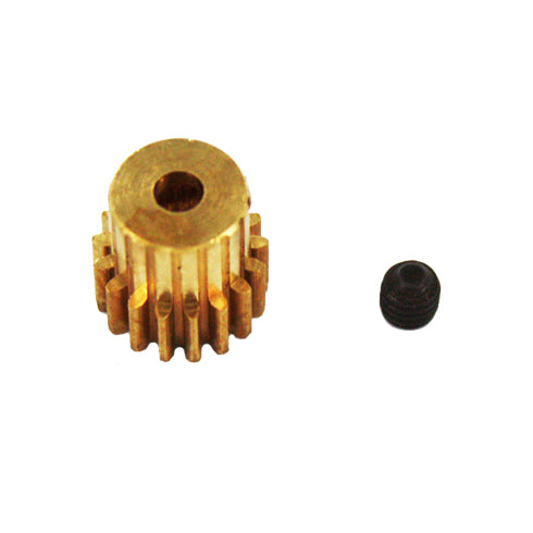 Redcat Racing Brass Pinion Gear (17T, .6 module) 11119 | RedcatRacing.Toys