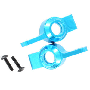 Redcat Racing Aluminum Rear Hub Carrier, blue (2pcs) 02130B | RedcatRacing.Toys