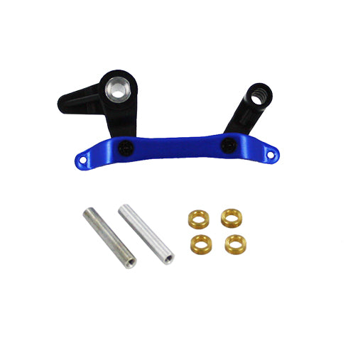 Redcat Racing Servo Saver and Bell Crank with Aluminum Ackerman BS803-010 - RedcatRacing.Toys