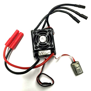 Redcat Racing Hobbywing 45A Brushless Speed Controller, Splashproof HW-WP-S10E-RTR - RedcatRacing.Toys
