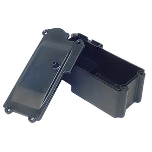 Redcat Racing  Receiver and Battery Box For Single Steering Servo  50006N | RedcatRacing.Toys