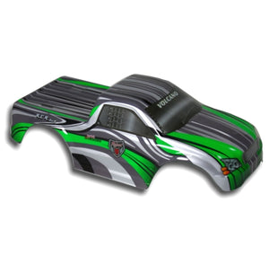 Redcat Racing 88023GW 1/10 Truck Body Green and White  88023GW | RedcatRacing.Toys