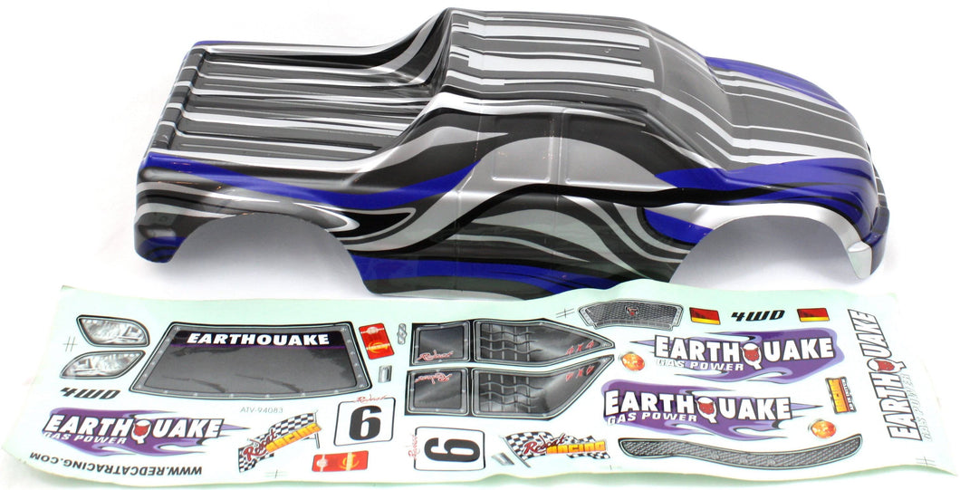 Redcat Racing 08319 1/8 Truck Body Blue and White | RedcatRacing.Toys