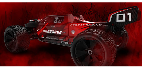 Redcat Racing Shredder 1/6 Scale Brushless Electric Red