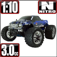 Redcat Racing Volcano S30 Truck 1/10 Scale Nitro Blue Redcat Racing Volcano S30 Truck 1/10 Scale Nitro Blue - RedcatRacing.Toys