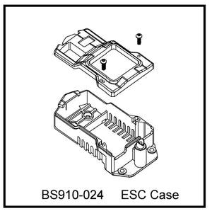 Redcat Racing BS910-024 ESC Case ~ - RedcatRacing.Toys