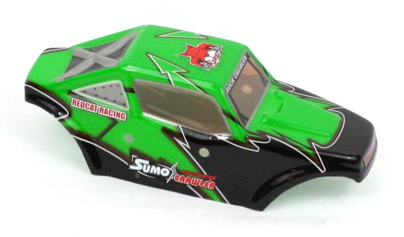 Redcat Racing 2098-B002 Sumo Crawler Body, Green 2098-B002 - RedcatRacing.Toys
