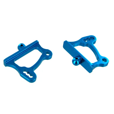 Redcat Racing Aluminum Adjustable Wing Mounts, Blue 166645 | RedcatRacing.Toys