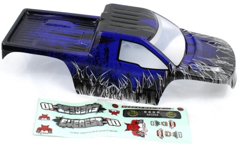 Redcat Racing R180-BL 1/10 Rock Crawler Body, Blue  R180-B | Redcat Racing