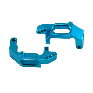 Redcat Racing 02132b Aluminum Front Hub Carriers, Blue (2pcs)  02132b | RedcatRacing.Toys
