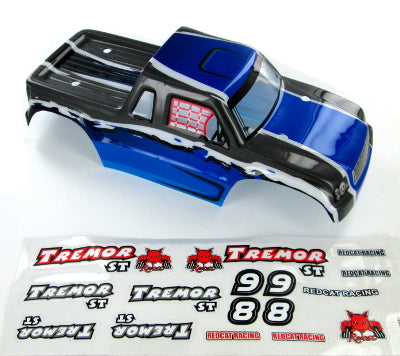 Redcat Racing 17003 Tremor ST Truck Body, Blue | RedcatRacing.Toys