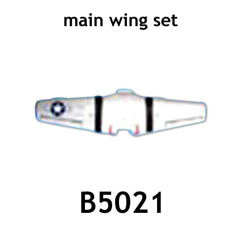 Redcat Racing AT-B5021 main wing,control horn*2 - RedcatRacing.Toys