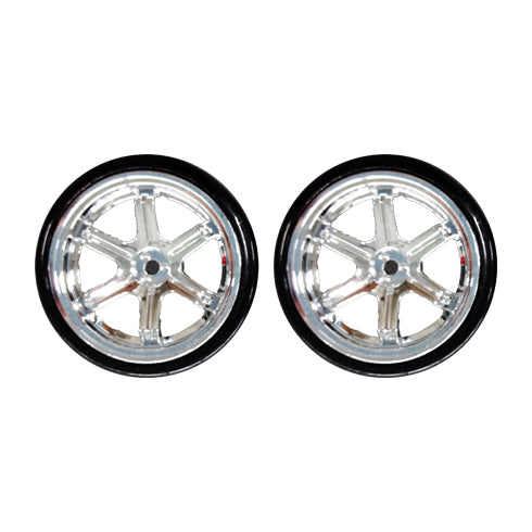 Redcat Racing BS204-001 Drift Wheels, Chrome (2 pcs) - RedcatRacing.Toys